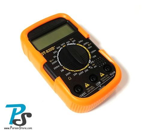 مولتی متر دیجیتال +DT-830D