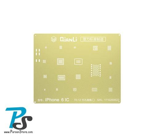 Stencil QiAnLi GOLD IPhone6