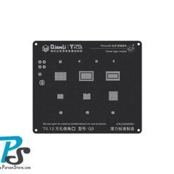 Stencil QiAnLi IPhone5S Q3