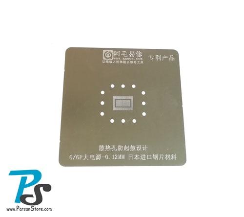 Stencil AMAOE 6-6P 0.12mm