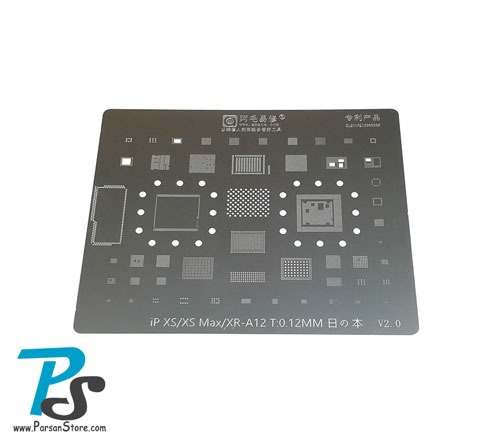 Stencil AMAOE iPhone XS-XSMAX-XR-A12